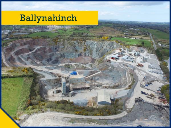 CES Quarry Products Ballynahinch Quarry - Buy Concrete, Stone, Block and Brick, and Bituminous Surfacing Products
